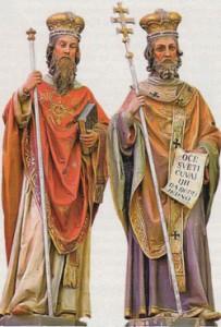 Скульптуры Кирилла и Мефодия