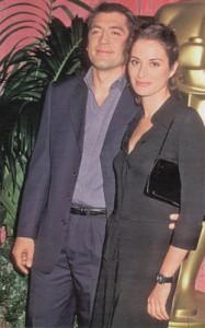 Хавьер со своей подругой Кристиной Палес