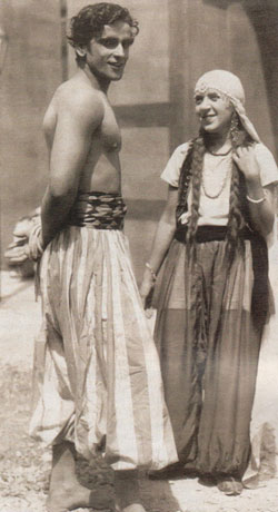 Женя Петерсон и Притхвирадж Капур