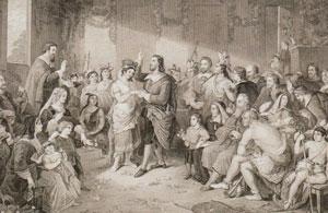 Свадьба Покахонтас и Джона Ролфа