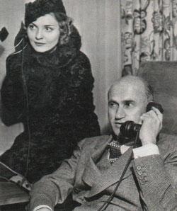 Анна Стэн и Сэмюэль Голдвин