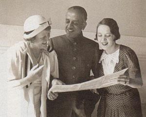 Женя Петерсон. 1935 год