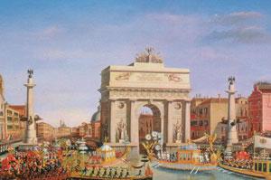 Картина Джузеппе Борсато