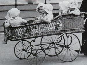 Многоместные коляски