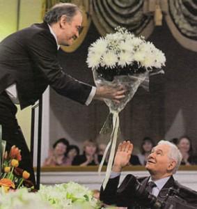 Валерий Гергиев и Леонид Рошаль