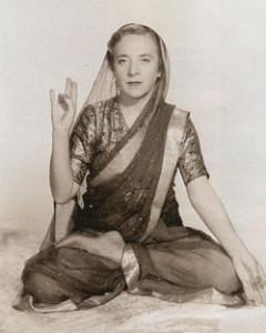 Индра Деви. 1953 год