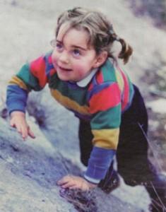 Кейт в детстве