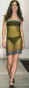 Кейт на благотворительном показе мод