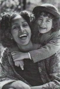 Марша Хант с дочерью